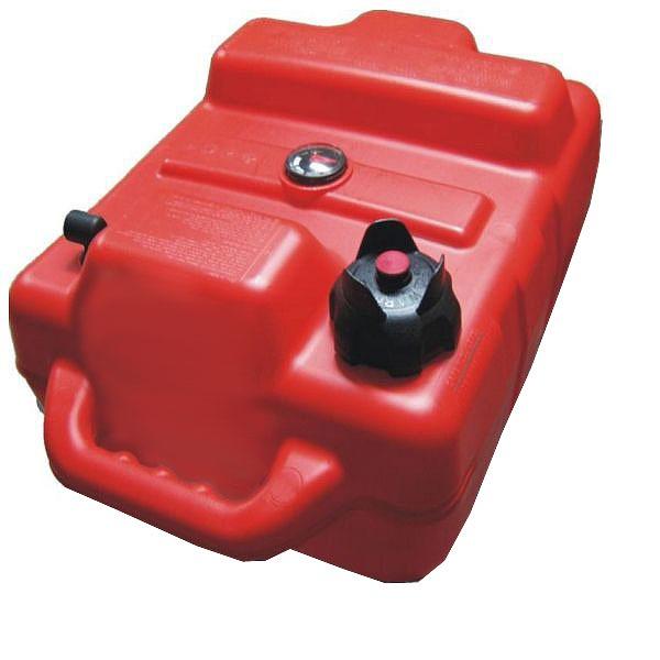Portable Gas Tank : Bluskies bs gas gallon plastic portable boat tank