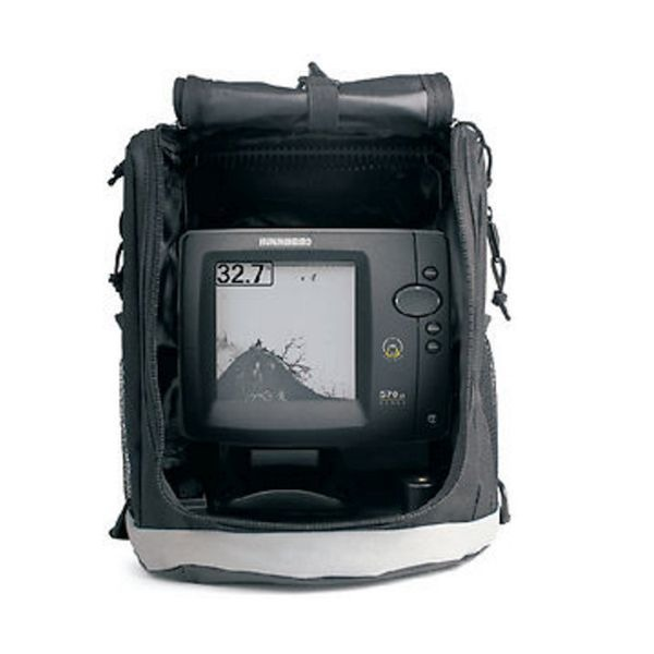 Humminbird 570 portable boat fishfinder w battery 407530 1 for Humminbird portable fish finder