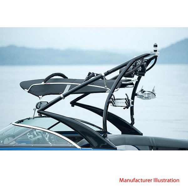 Aluminum Boat Racks : Moomba supra z aluminum boat wakeboard rack tower
