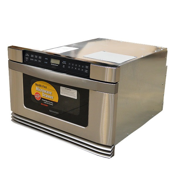 Sharp kb6021ms 24 inch stainless steel 120vac 60hz boat for 24 inch built in microwave stainless steel