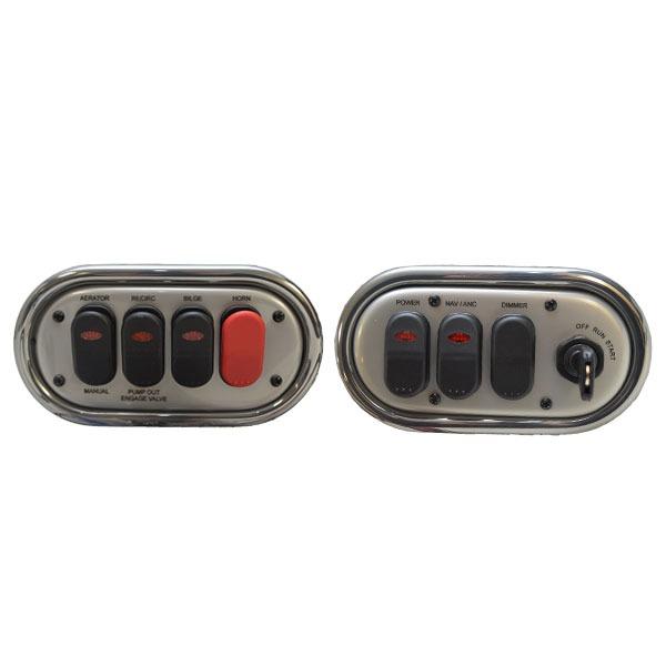 tracker 2015 nitro z7 gray silver boat ignition    switch