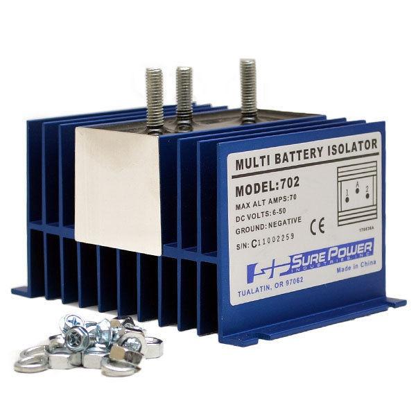wellcraft 028 0142 sure power 702 boat 70 amp multi battery isolator ebay. Black Bedroom Furniture Sets. Home Design Ideas