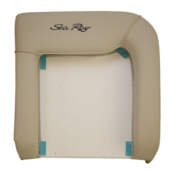 Sea Ray 15 370 VN Beige Boat Port Back Helm Seat Cushion