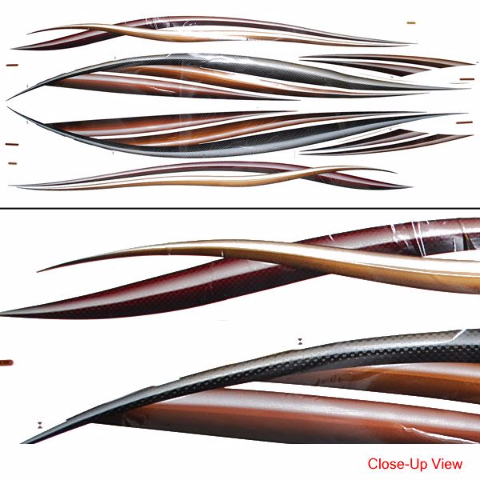 Crestliner Pontoon Boat  Decal Kit - Decals for pontoon boats
