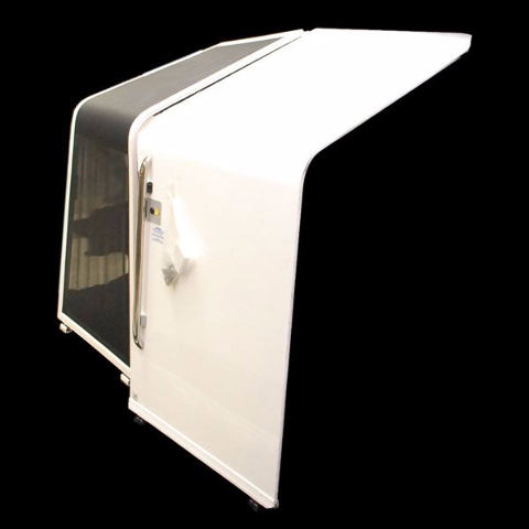 Bayliner 2900se boat cabin entry port door and screen for Boat cabin entry doors