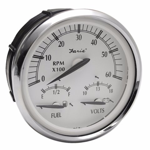 1040254 faria gtc023b newport silver series inboard outboard multi function boat tachometer gauge vdo electronic tachometer wiring diagram efcaviation com boat tachometer wiring diagram at gsmx.co