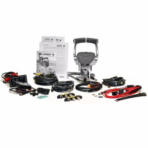 Hydra Sport Evinrude Johnson 764982 Dual Engine Boat Remote Control Kit Ebay