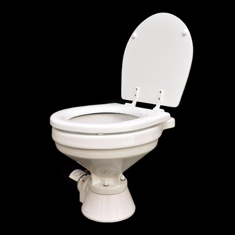 Rinker Jabsco 37245 7092 Marine Quiet Flush Electric Low