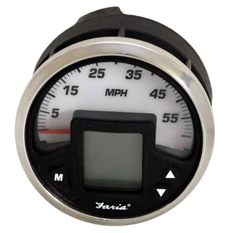 faria mg2000 ig1133a multi function mercury smartcraft boat speedometer ebay
