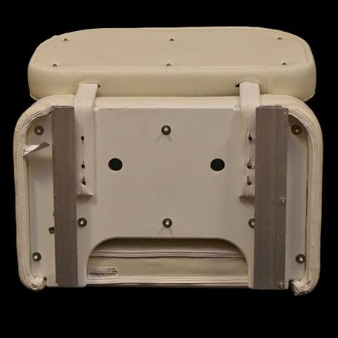Rinker Off White Boat Sliding Bolster Bench Seat W