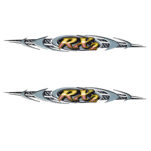 Rinker Extreme  OEM Boat Vinyl Decal  X  Inch Set Of - Vinyl decals for boats