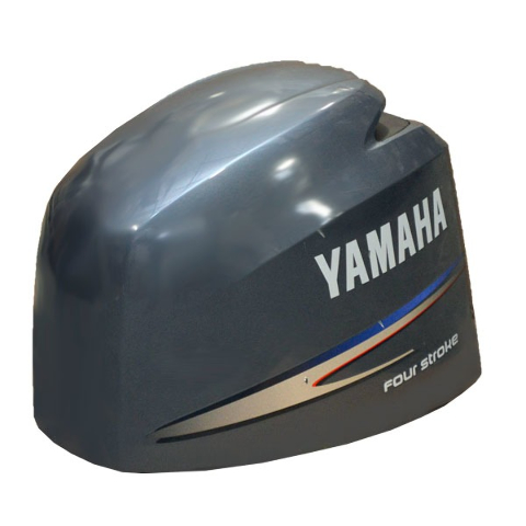 Yamaha 150 four stroke fuel injection gray boat motor top for Yamaha 150 2 stroke fuel consumption