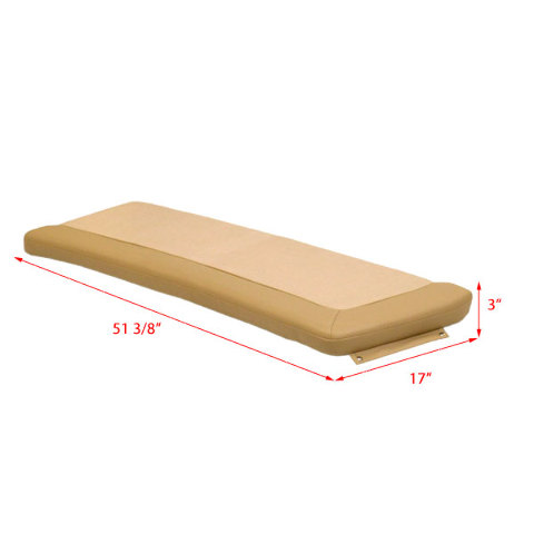 Crane Boat Bench Seat Cushions St4251er1 Bb Scout Uh1365er1 Tan 2 Pc Set Ebay