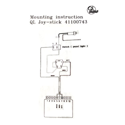 1064822 tiara yachts 432171 volvo penta 41100743 marine boat thruster joystick control panel kit 3 ql bow thruster wiring diagram ql wiring diagrams collection Wesmar Bow Thruster Schematics at edmiracle.co