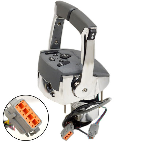 Evinrude Johnson 0764984 Triple Engine Outboard Boat Rigging Remote Control Kit Ebay