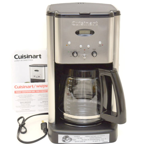 Cuisinart Coffee Maker Accessories Carafe : Cuisinart Boat Coffee Maker Brew Central DCC-1200C Programmable eBay