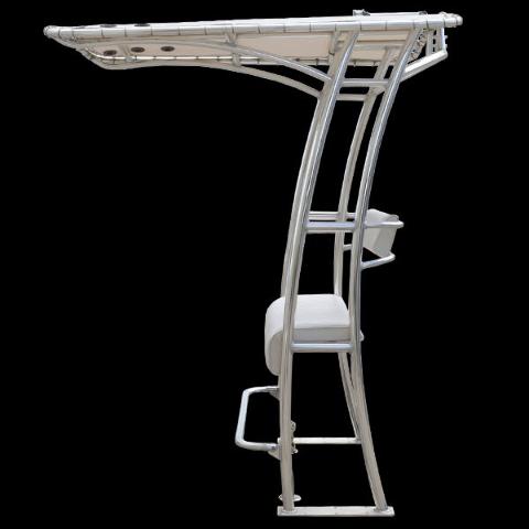 Custom Deluxe Aluminum Marine Boat T Top Bench Seat W