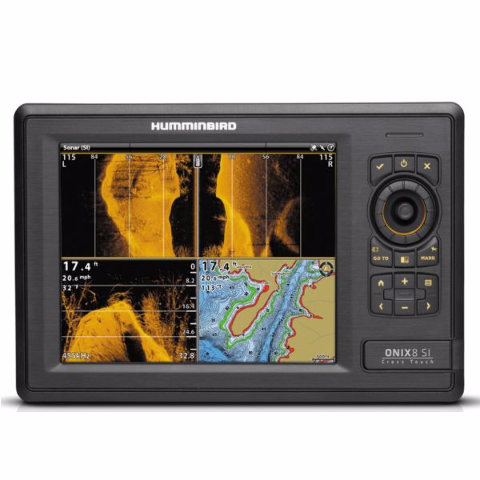humminbird boat onix 8ci si sonar / gps combo | cross touch 408860, Fish Finder