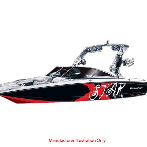 MASTERCRAFT XSTAR N GLACIER WHITE VINYL MARINE BOAT DECALS - Boat decals