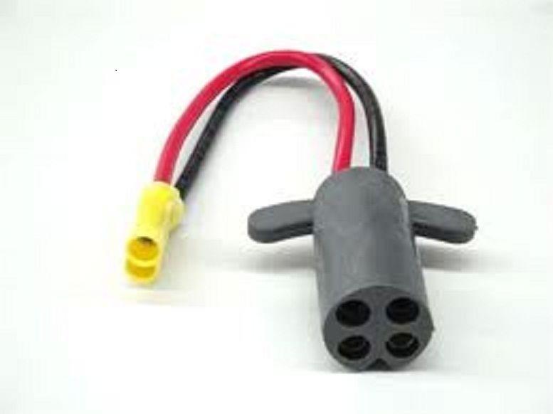 New rig rite v groove trolling mtr plug rig 410 for Trolling motor repair near me