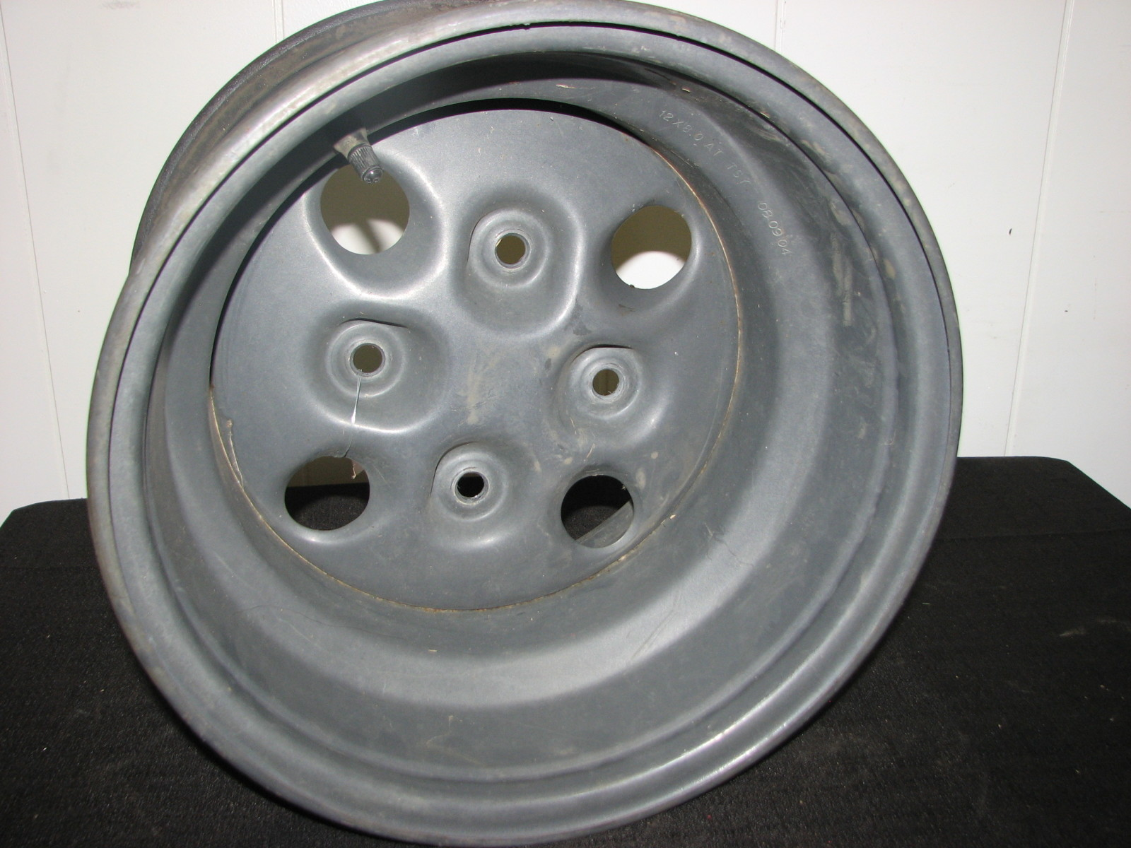 Atv Rims Wheel Covers : Arctic cat atv rear wheel rim
