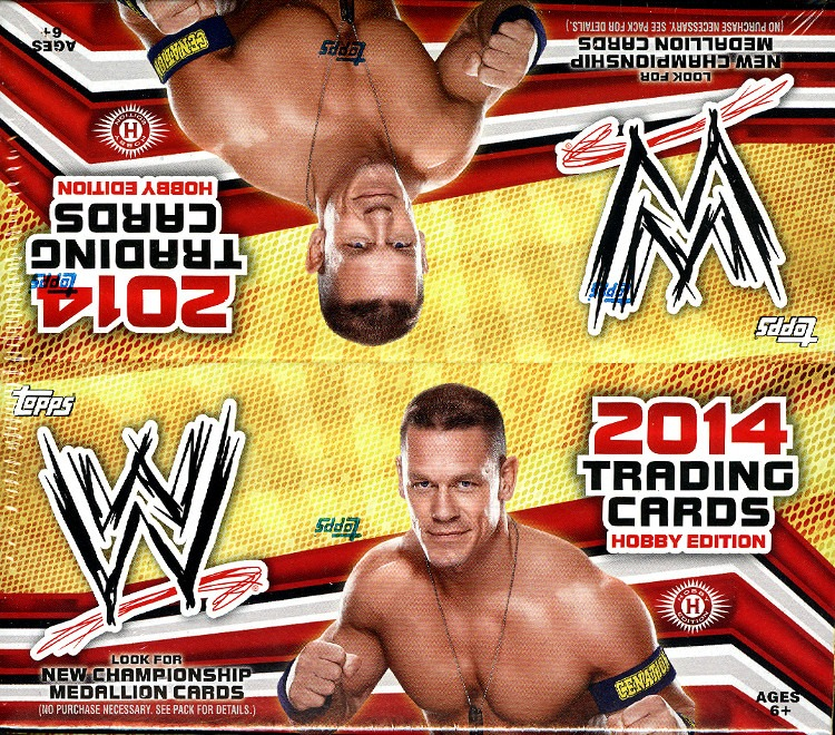 2014 Topps WWE Wrestling Hobby Box (Sealed)