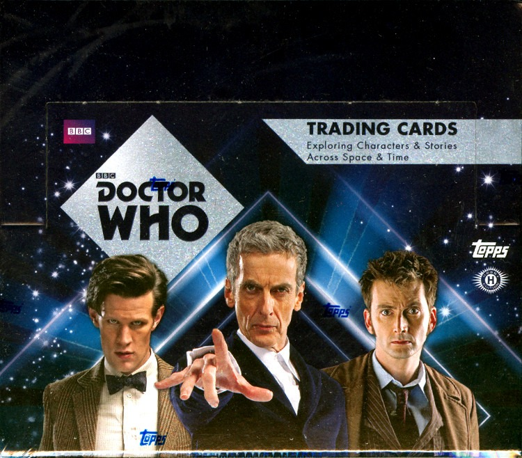2015 Topps Doctor Dr. Who Trading Cards Hobby Box (Sealed)