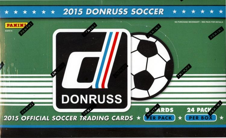 2015 Panini Donruss Soccer Hobby Box (Sealed)
