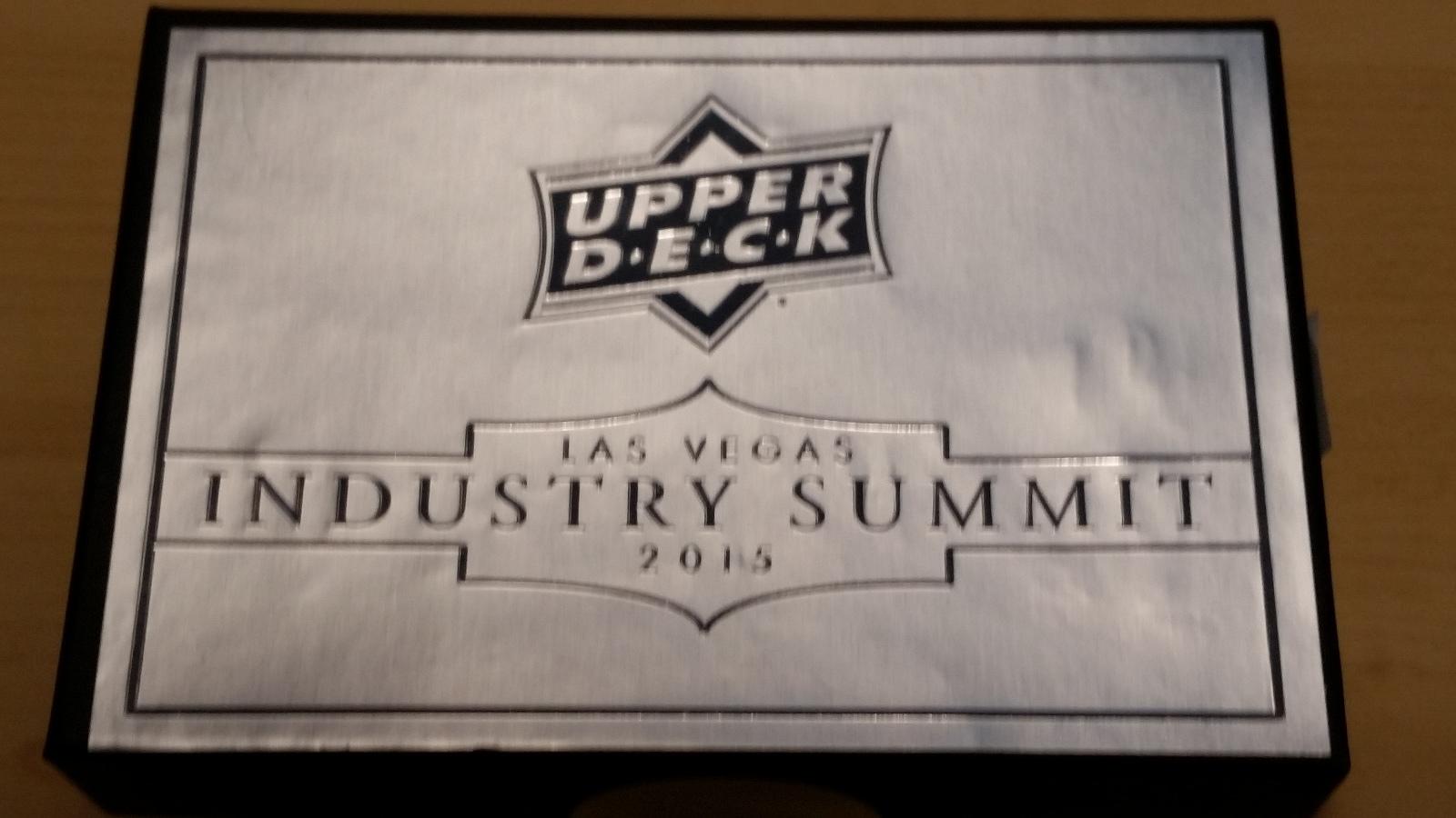 2015 Upper Deck Las Vegas Industry Summit Sealed Box