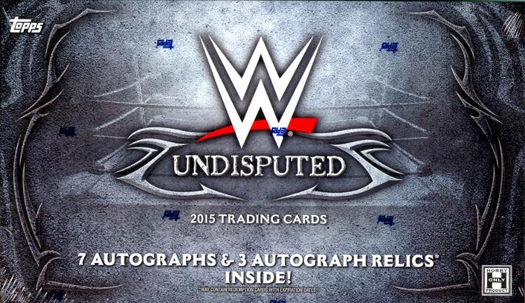 2015 Topps WWE Undisputed Wrestling Hobby Box (Sealed)
