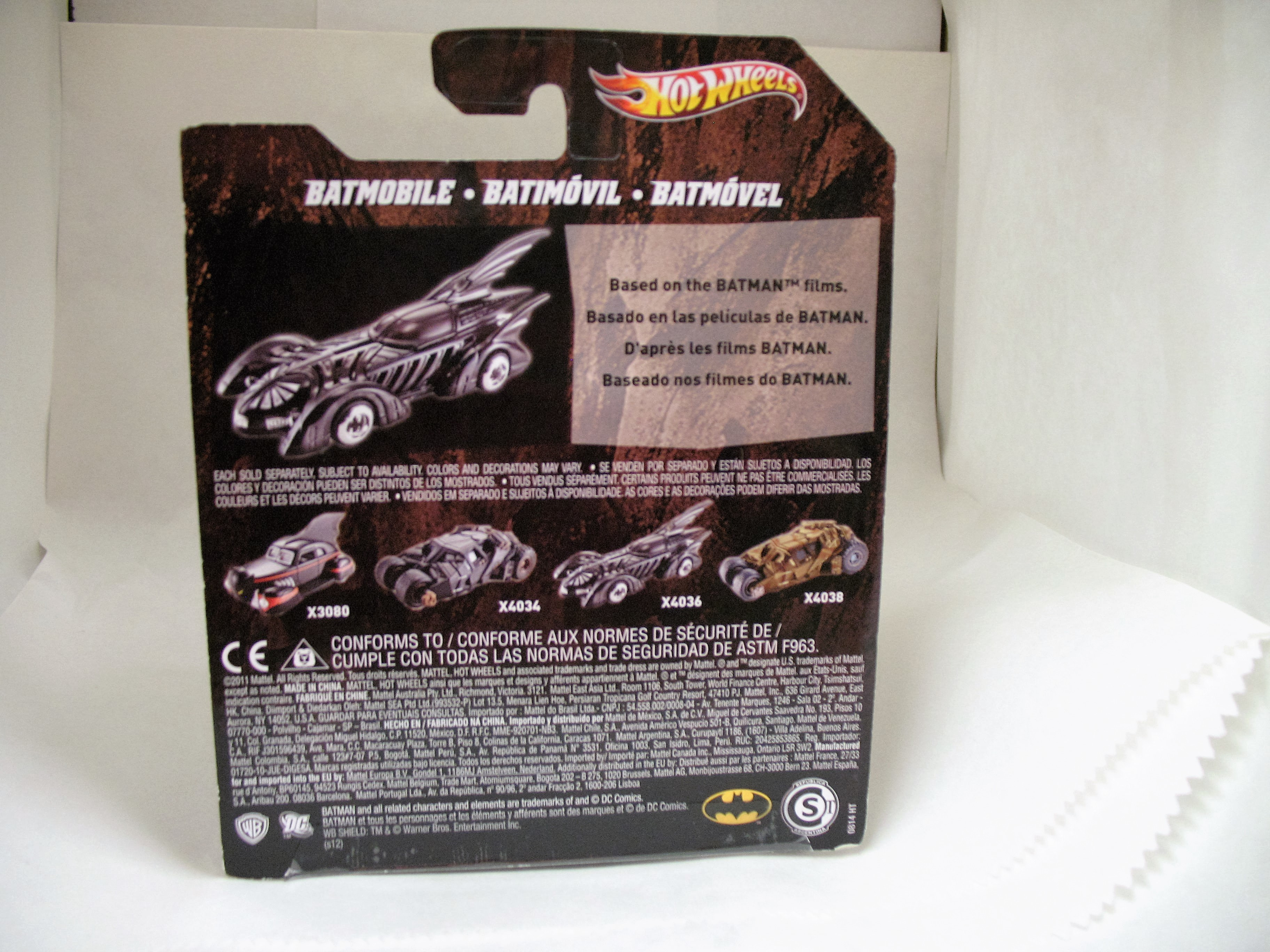 Filme Do Hot Wheels pertaining to hot wheels 2011 batman forever batmobile x4036 1:50 scale mattel