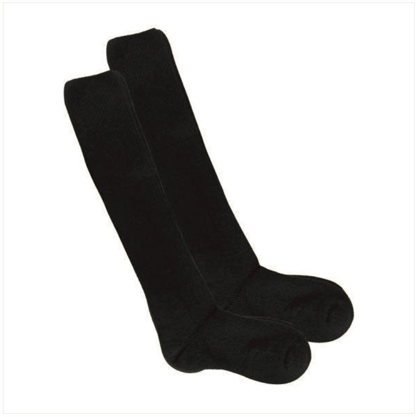 BLACK XL THORLO UNISEX COMBAT BOOT SOCKS