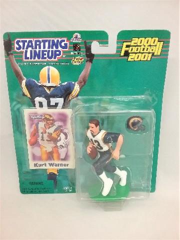 2000 Kurt Warner NFL Starting Lineup Sports Superstar Collectibles St. Louis Rams McFarlane