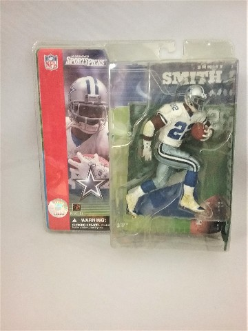 2001 Emmitt Smith McFarlane's Sportspicks Figure Dallas Cowboys Series 1 NFL
