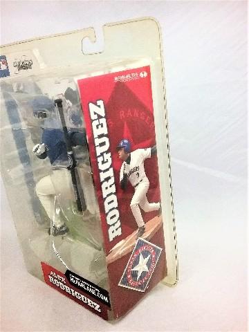 2002 Alex Rodriguez Blue Variant McFarlane's Sportspick Series 2 Texas Rangers MLB Major League Baseball