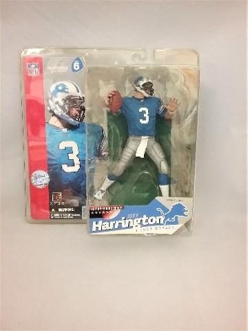 2003 Joey Harrington McFarlane's Sportspick Figure Action Figure Debut Series 6 NFL Detroit Lions