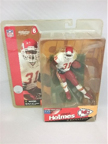 2003 Priest Holmes McFarlane's Sportspicks Figure Series 6 Kansas City KC Chiefs Action Figure Debut NFL