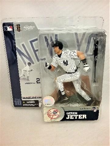 2004 Derek Jeter McFarlane's Sportspick Figure Series 10 New York NY Yankees East Division MLB Major League Baseball