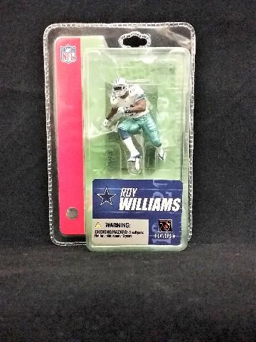 2005 Roy Williams Dallas Cowboys McFarlane's Sportspicks Minis NFL
