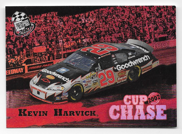Kevin Harvick NASCAR 2007 Press Pass Cup Chase Refractor /18