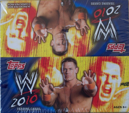 2010 Topps WWE Wrestling Retail Box (Sealed)