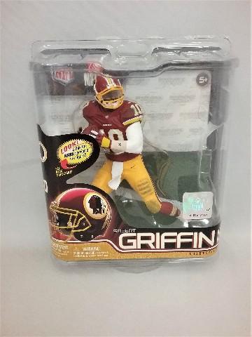 2012 Robert Griffin III McFarlane's Sportspick Debut Figure Series 31 Washington Redskins NFLPA