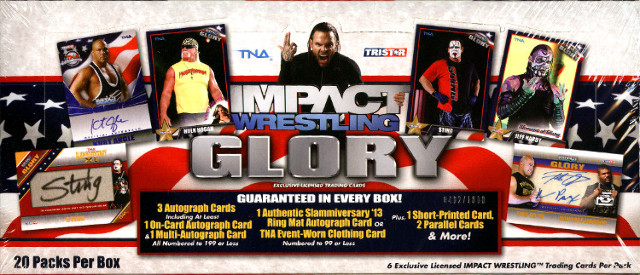 2013 Tristar TNA Impact Glory Wrestling Hobby Box (Sealed)