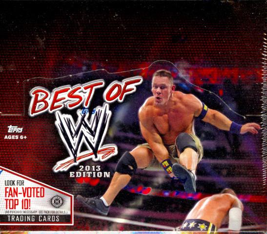 2013 Topps Best Of WWE Hobby Box (Sealed)