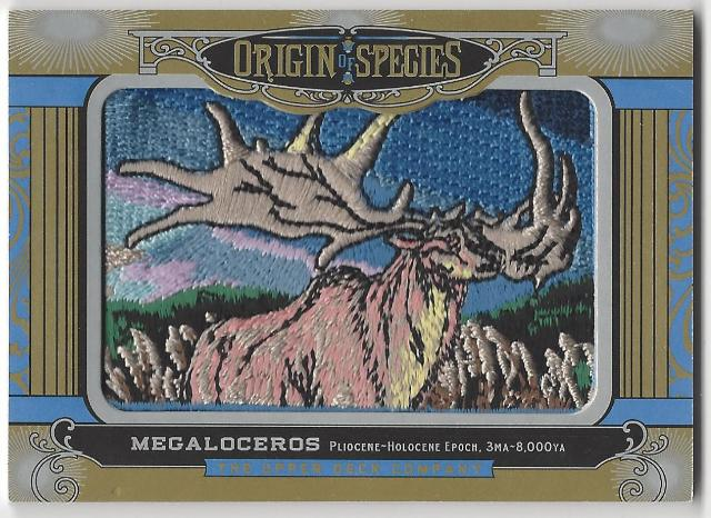 Megalorceros 2016 Origin of Species Goodwin Champions Patch Card#228