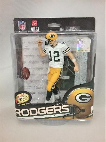 2014 Aaron Rodgers McFarlane's Sportspicks Debut SPD Figure NFLPA NFL 34 Green Bay Packers