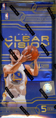 2015/16 Panini Clear Vision Basketball 8 Hobby Box Inner Case (Sealed)