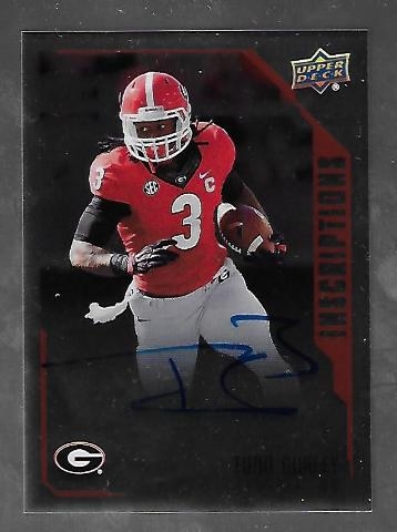 TODD GURLEY 2015 Upper Deck Inscriptions Auto #TG autograph