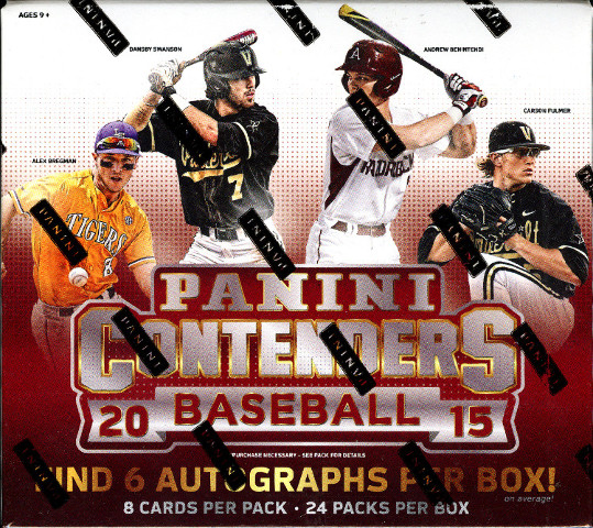 2015 Panini Contenders Baseball Hobby Box (Sealed)(24 packs) Aaron Judge