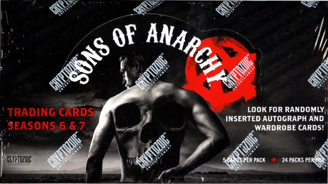 Sons Of Anarchy Seasons 6-7 Trading Cards Box (Cryptozoic) (Sealed) (2015)